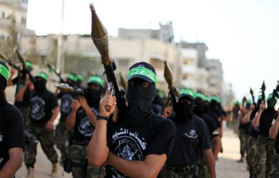 Brigadas Izz ad-Din al-Qassam, o braço militar do Hamas