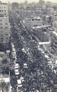 200 mil palestinos no funeral do Sheik Ahmed Yassin em Gaza