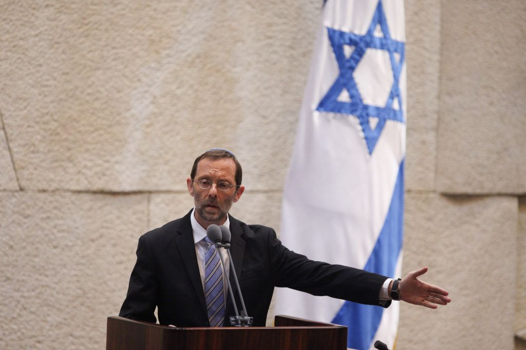 Chaver Knesset Moshe Feiglin, do partido Likud